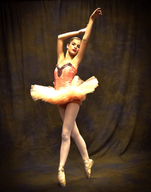 """Reed Flutes from """"Nutcracker"""" second act Nutcracker .Kodie Brown is a 16 year old soloist with Hot Springs Children's Dance Theatre Co she has had soloist status 3 years and longer than any other member of the company, and a charter member of the troupe."""